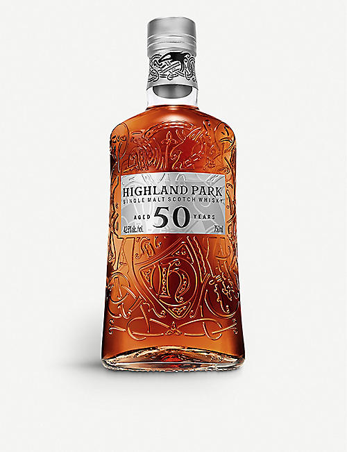 HIGHLAND PARK: 50 year old single malt Scotch whisky 700ml
