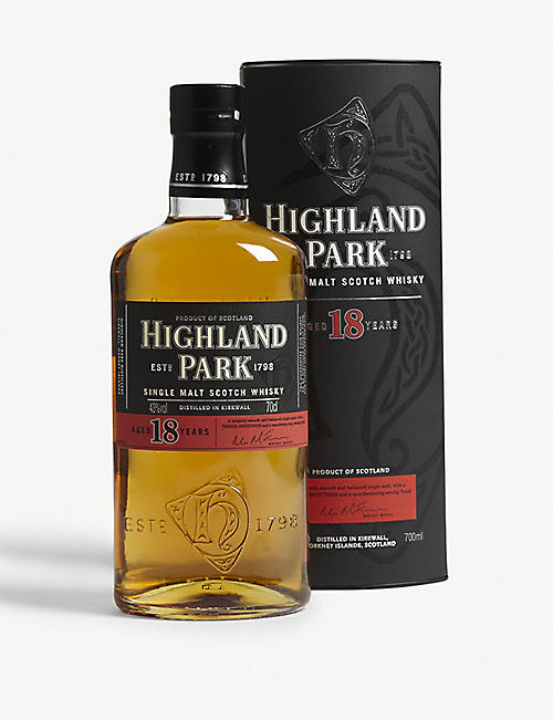 HIGHLAND PARK 18 year old single malt Scotch whisky 700ml