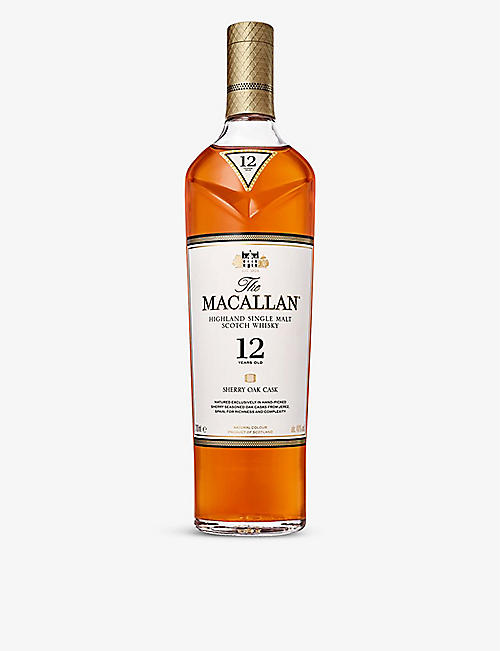 MACALLAN: 12 year old sherry cask 700ml