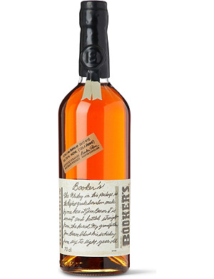 WORLD WHISKEY Booker's 6 Year Old Straight Bourbon whisky 700ml