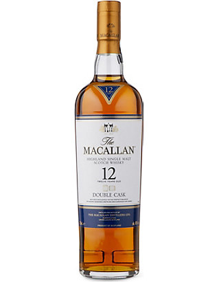 MACALLAN: 12-year-old double cask Scotch whisky 700ml