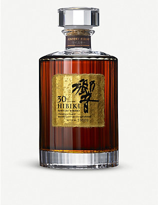 WHISKY AND BOURBON: Suntory 希比基 30 岁 blended whisky
