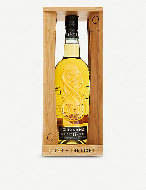 HIGHLAND PARK: Highland Park The Light 17-year-old single malt Scotch whisky 700ml