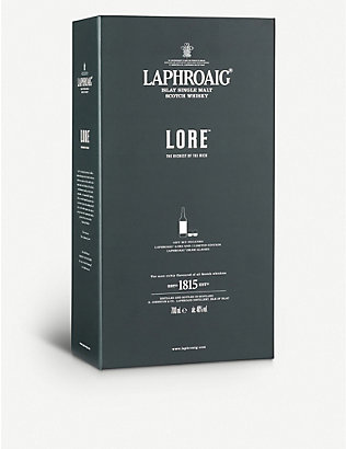 LAPHROAIG: Laphroaig Lore year single malt Scotch whisky 700ml
