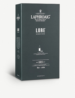 WHISKY AND BOURBON Laphroaig Lore year single malt Scotch whisky 700ml