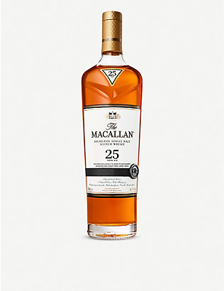 MACALLAN: Macallan 25 year old single malt whisky