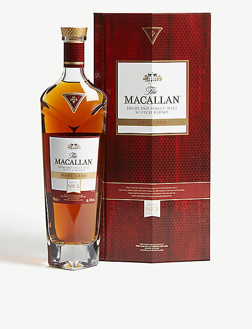 WHISKY AND BOURBON The Macallan Rare Cask Batch No.3 single malt Scotch whisky 700ml