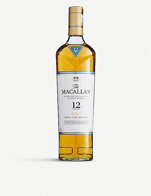 MACALLAN: Macallan Triple Cask 12-year-old single malt Scotch whisky 700ml