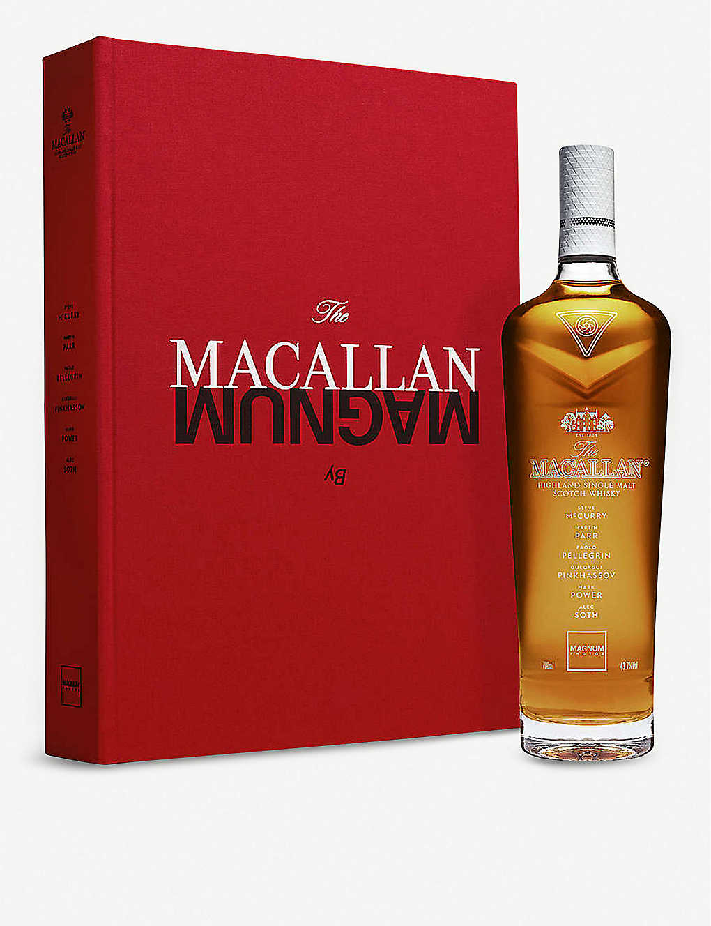 MACALLAN: Masters of Photography Magnum highland single malt Scotch whisky