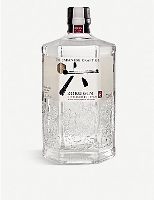 GIN: The Japanese Craft Gin Roku gin 700ml