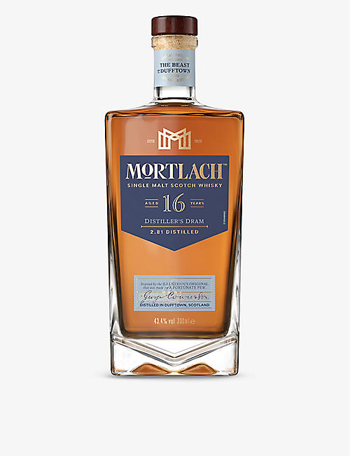 SPEYSIDE: Mortlach 16-year-old single malt Scotch whisky 700ml