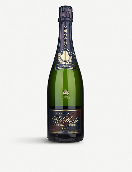 POL ROGER Cuvée Sir Winston Churchill 2006 vintage champagne 750ml