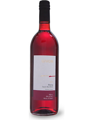 KOSHER: Malog sweet red wine 750ml