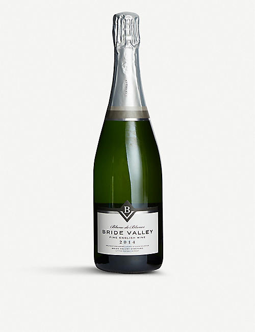 UK Bride Valley 2014 Blanc de Blancs wine 750ml