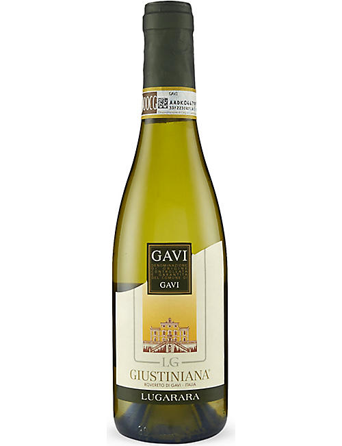 WINESAVE Gavi Giustiniana white wine 375ml