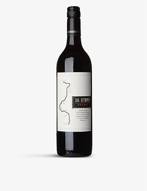 AUSTRALIA: ​​​​​​​16 Stops shiraz 750ml