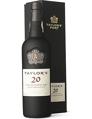 TAYLORS: 20 YO Tawny port 750ml