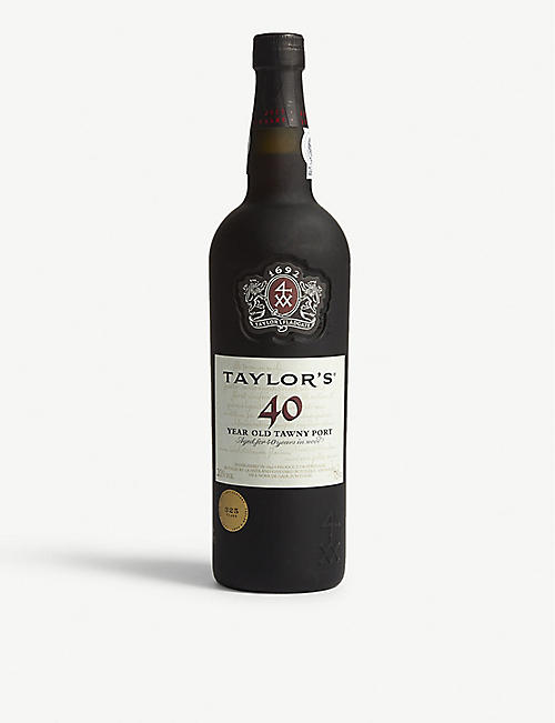 TAYLORS: 40 year old tawny port 375ml