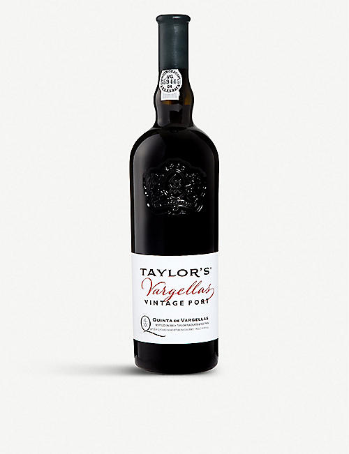 TAYLORS: Vargellas 2004 vintage port 750ml