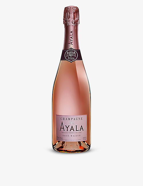 CHAMPAGNE: Rose Majeur NV rosé champagne 750ml