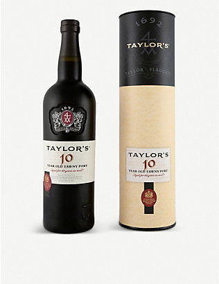 PORTUGAL: Taylor's 10-year-old tawny port 750ml