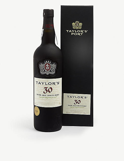 PORTUGAL Taylor's 30 year old tawny port 750ml