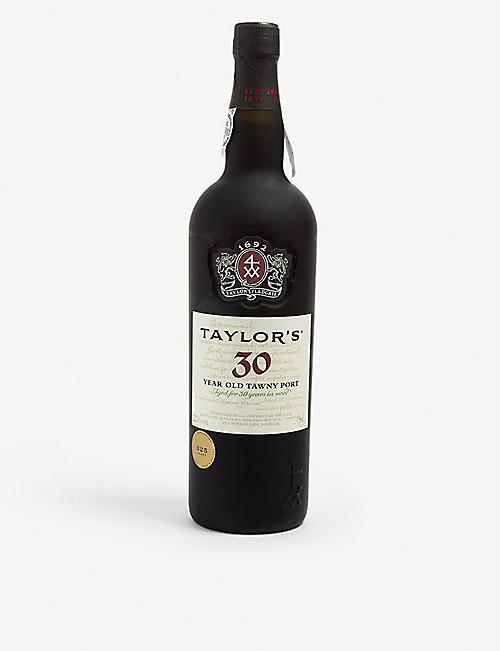 PORTUGAL: Taylor's 30 year old tawny port 750ml