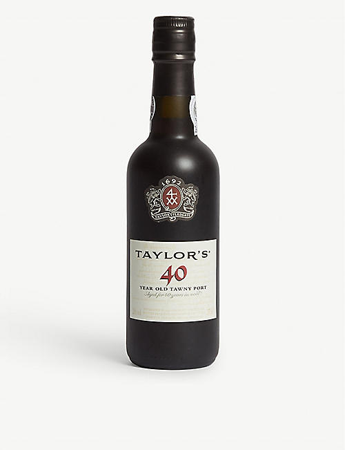 PORTUGAL Taylor's 40-year-old tawny port 375ml
