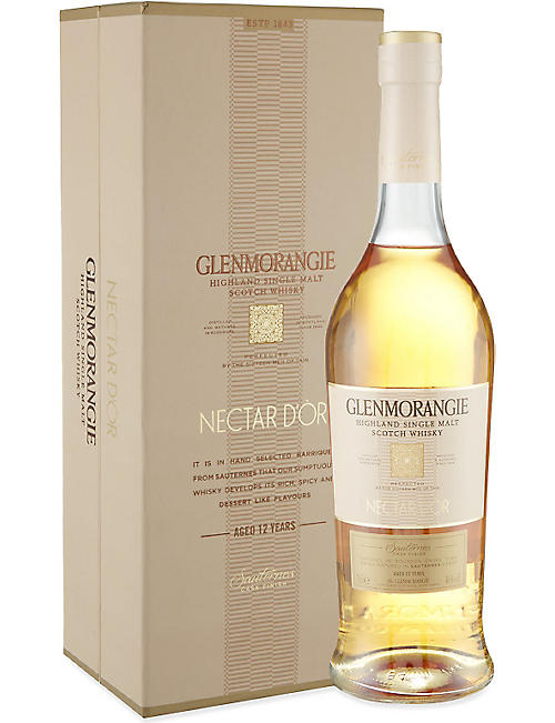GLENMORANGIE Nectar D'or 12yo single malt whisky 750ml