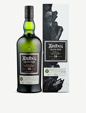 WHISKY AND BOURBON Ardbeg Traigh Bhan 19 year old single malt whisky 700ml