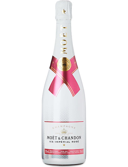 MOET & CHANDON Ice Impérial NV Rosé glass pack 750ml