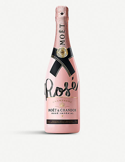 MOET & CHANDON Living Ties Impérial Rosé NV Champagne 750ml