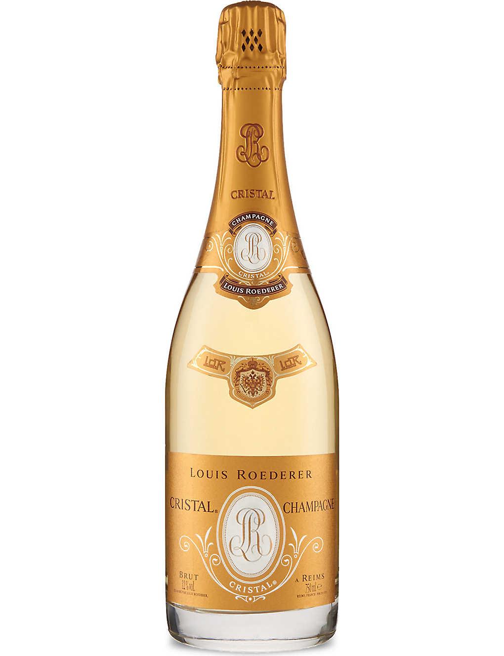 Champagne Cristal