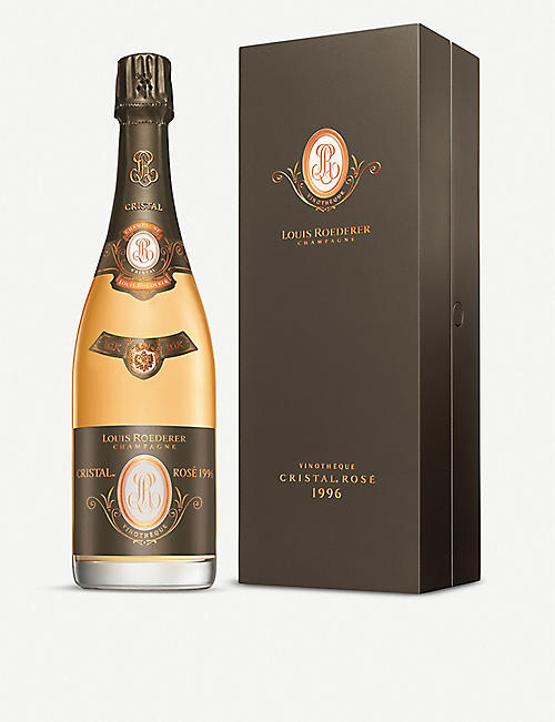 LOUIS ROEDERER: Cristal Vinotheque Rose 1996 750ml