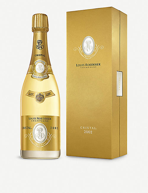 LOUIS ROEDERER: Louis Roederer 2002 Cristal Blanc champagne 750ml