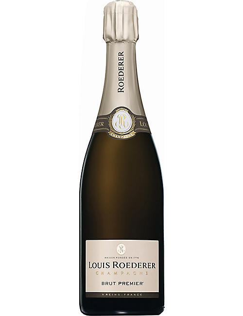 LOUIS ROEDERER: Brut NV champagne 750ml