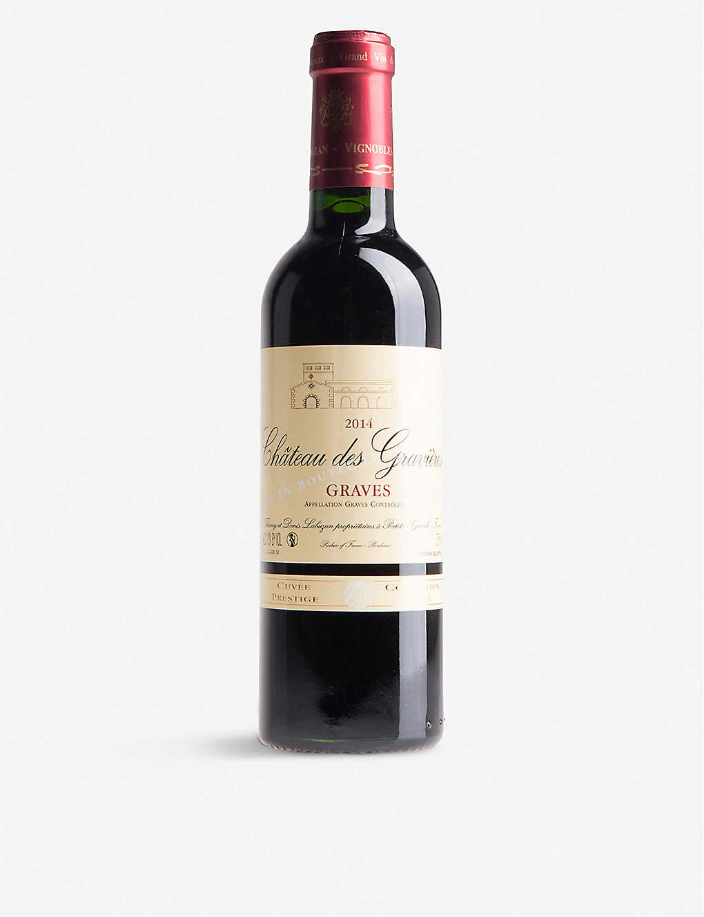 FRANCE: Chateau Des Gravieres Collection Prestige Graves 375ml
