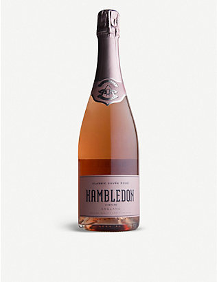 SPARKLING WINE: Hambledon Classic Cuvée English rosé 750ml