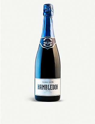 SPARKLING WINE: Hambledon Classic Cuvée English sparkling wine 750ml