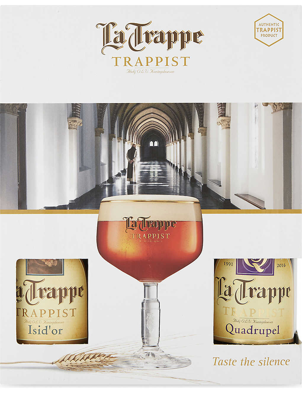 WORLD OTHER: La Trappe Trappist four ale & glass gift pack 4 x 330ml