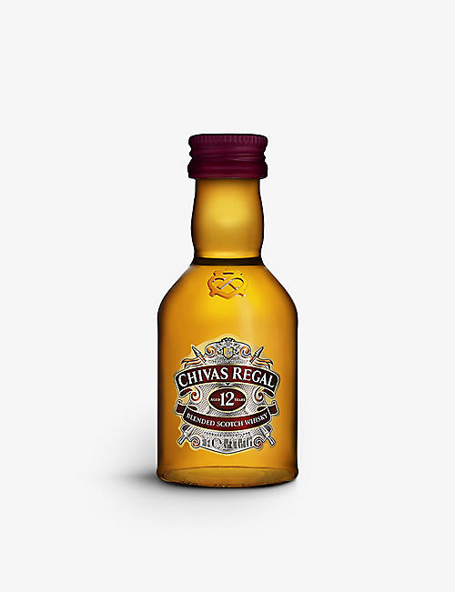 CHIVAS REGAL: 12 year old Scotch whiskey 50ml