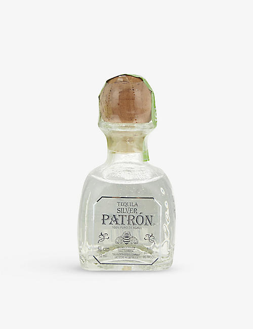 PATRON: Silver tequila 50ml