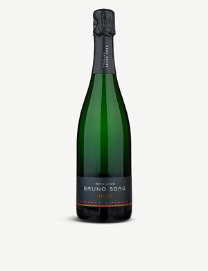 FRANCE Domaine Bruno Sorg Cremant D'Alsace sparkling wine 750ml