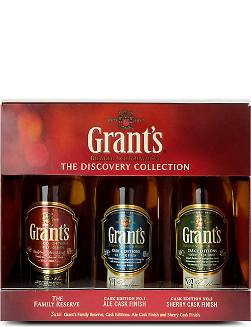 BLENDED WHISKY The Discovery Collection blended Scotch whiskies set of three