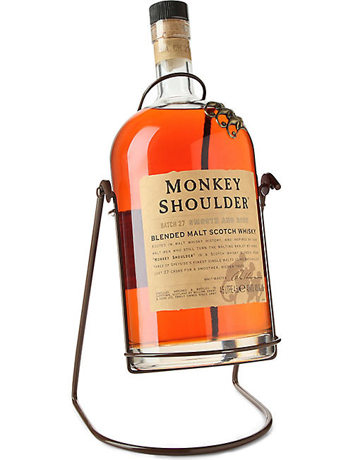 MONKEY SHOULDER Gorilla blended malt scotch whisky 4500ml