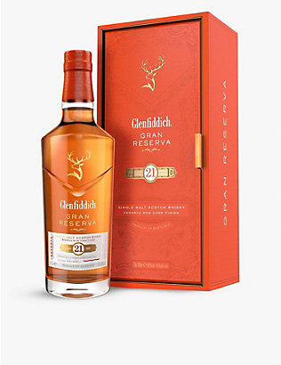 GLENFIDDICH: Gran Reserva 21-year-old single malt Scotch whisky 700ml