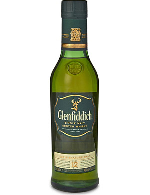 GLENFIDDICH 12-year-old single malt Scotch whisky 350ml