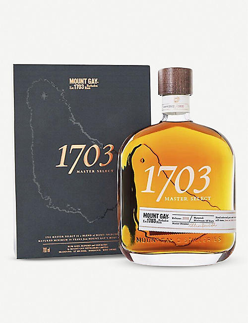 MOUNT GAY: 1703 Master Select rum 700ml