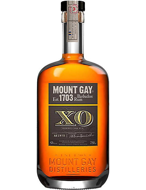MOUNT GAY: Mount Gay XO Triple Cask Blend Rum 700ml