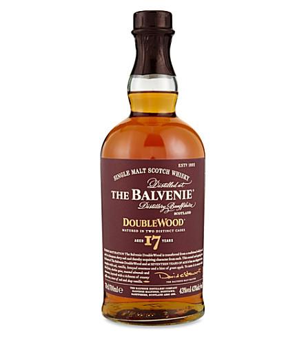 Balvenie doublewood single malt scotch whiskey Balvenie single